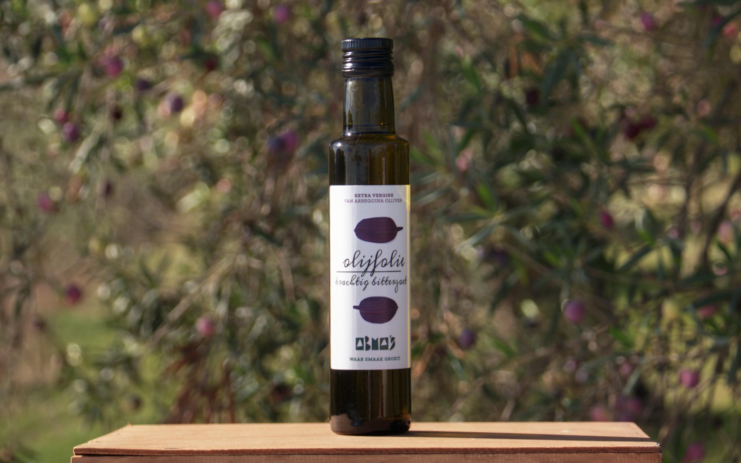 Abma's olijfolie krachtig bitterzoet