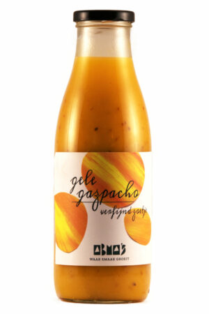 gele gazpacho | verfijnd zoetje
