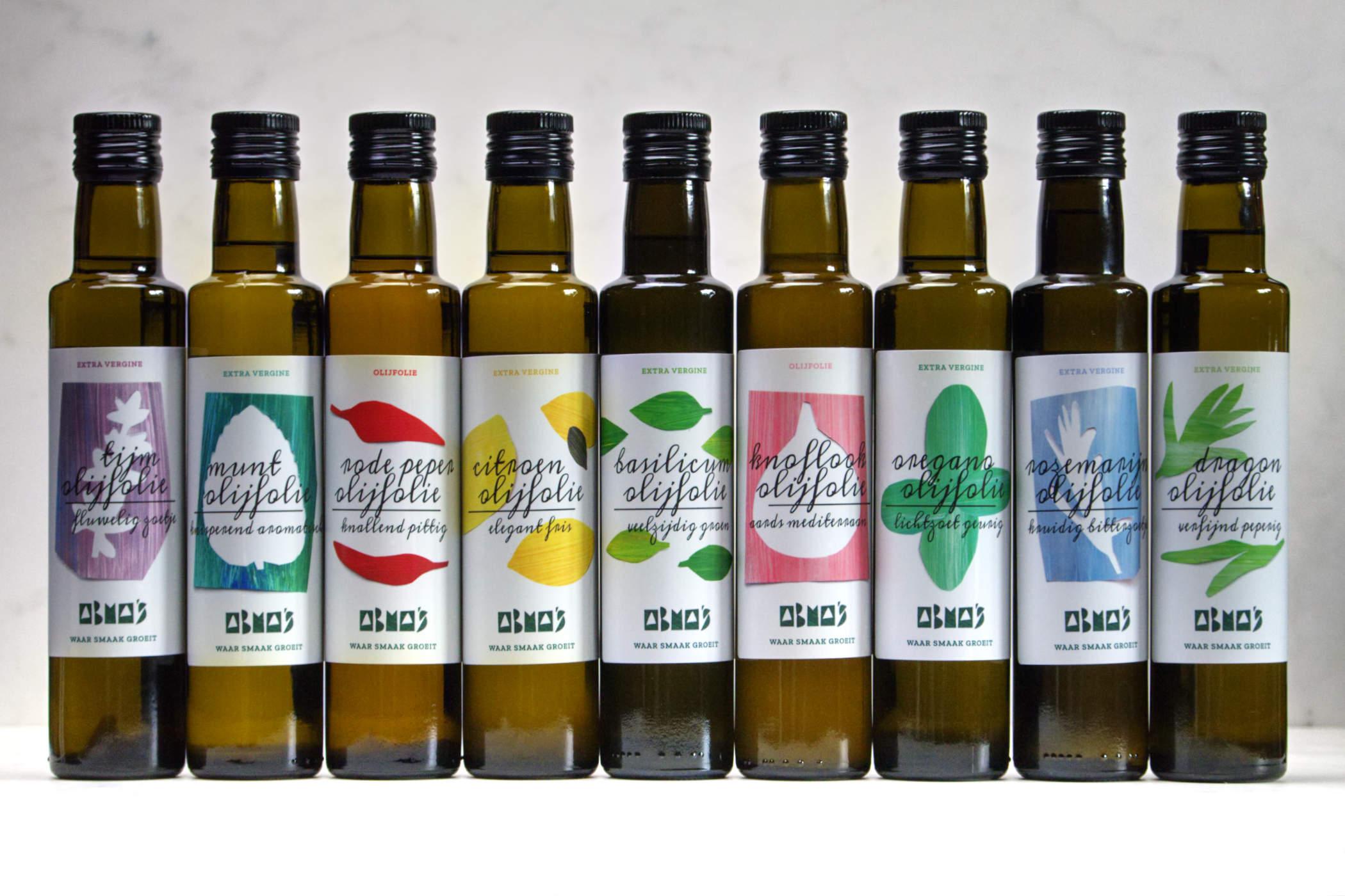 Abma's munt olijfolie schenken