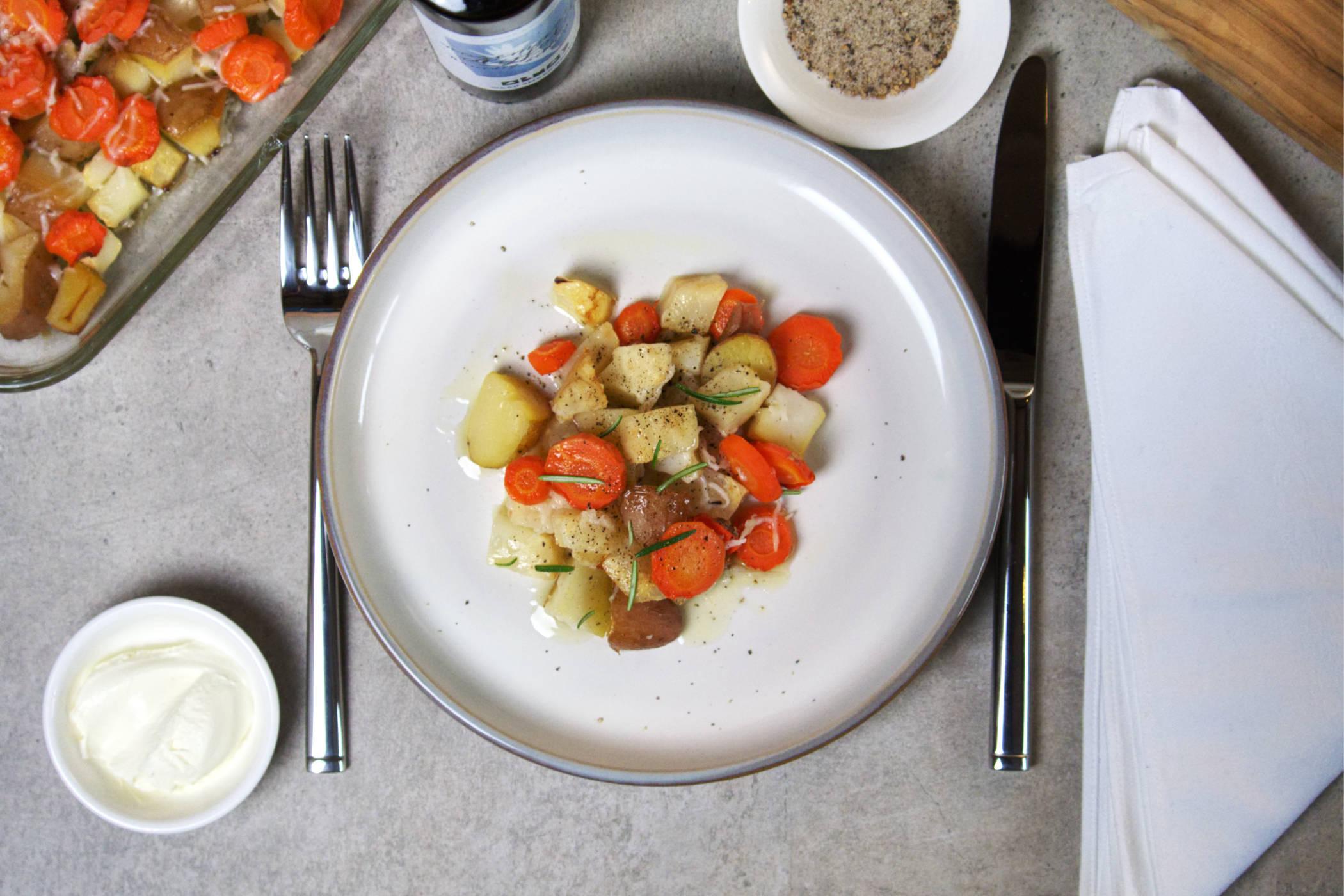 gegratineerde groenten